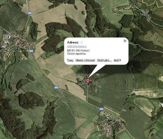 Obec Olší u Tišnova